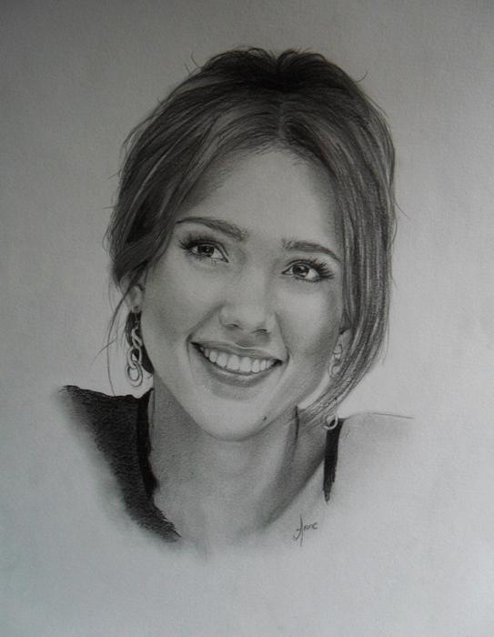 Jessica Alba par Ennankh